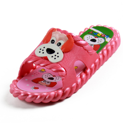 0d2fb8ca24ef2c Children cool slippers private baby cute cartoon dog take a shower bathroom  anti-skid soft bottom summer slippers at home