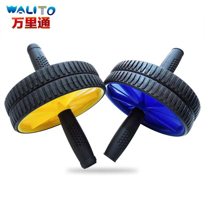 健腹輪練腹肌滑輪 腹肌滾輪推輪腹肌訓練器 腹部俯臥撐輪單輪軸承