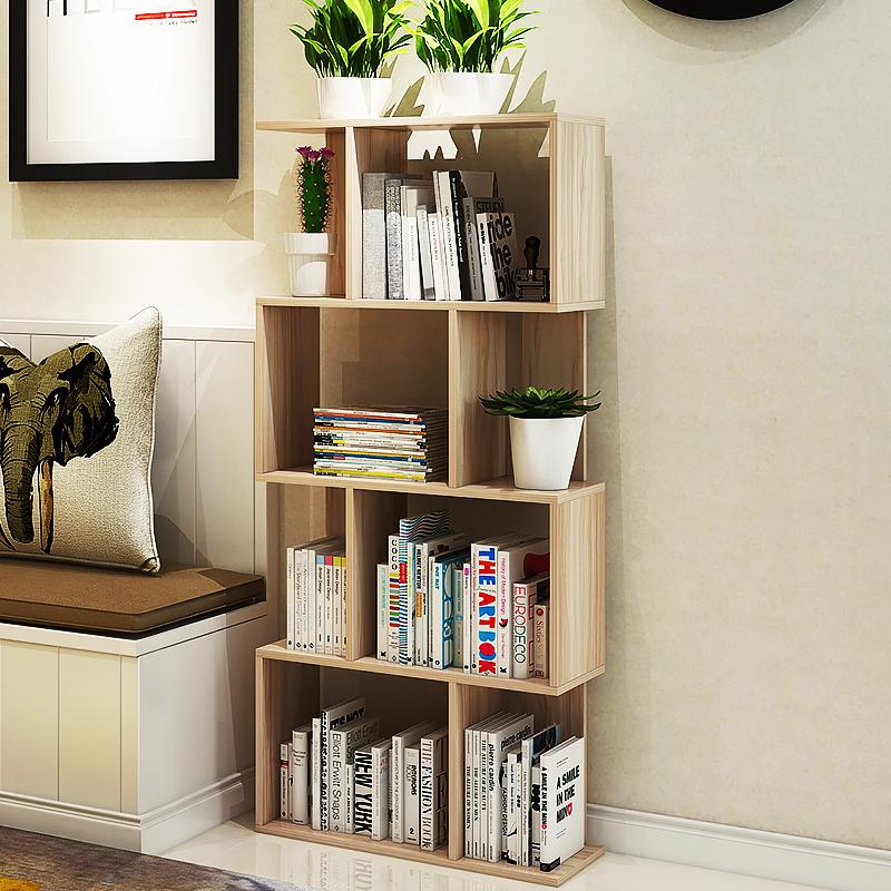 億家達簡約 自由 書櫃書架簡易置物架多層隔斷架書櫥展示架