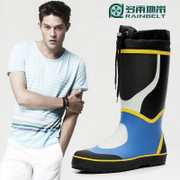 RAINBELT rain-belt Korean fashion men's boots men's boots shoes high water outdoor fishing shoes