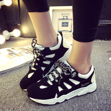 Summer and fall 2015 couples sport casual shoes female han edition of the original SuFeng gump shoes breathable students running shoes wet shoes