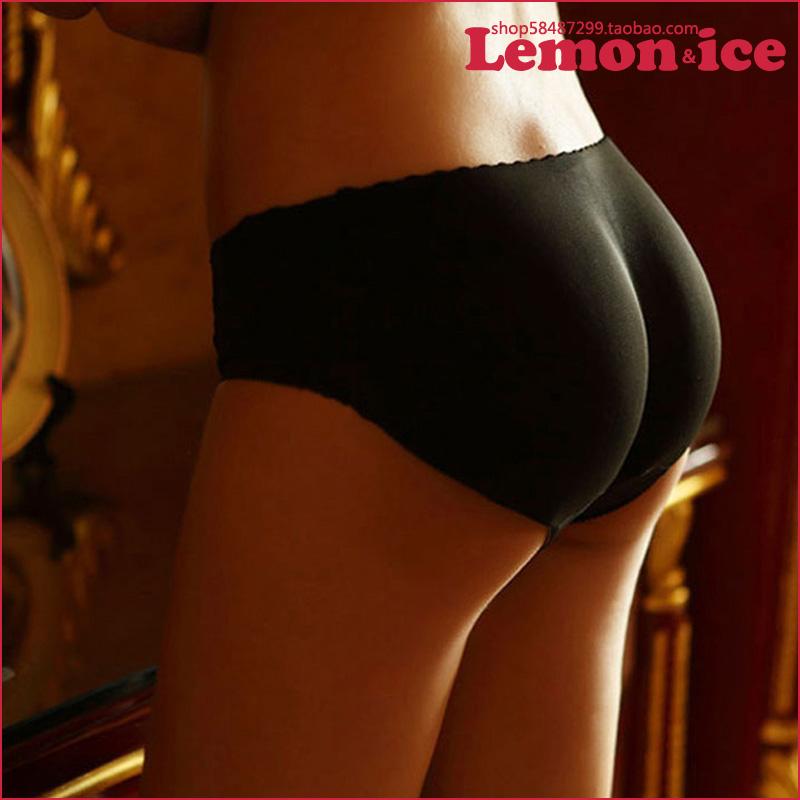 Дышащие бесшовные мягкие бедра бедра брюки хип колодки поддельные бедра прикладом nice нижней брюки, поддельные прикладом нижнее белье женщин