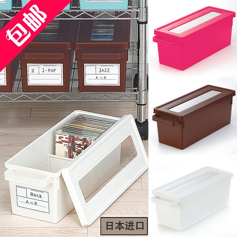 Иморт из японии inomata в коробку DVD диск разбираться коробка большой емкости CD в коробку ps4 cd коробка