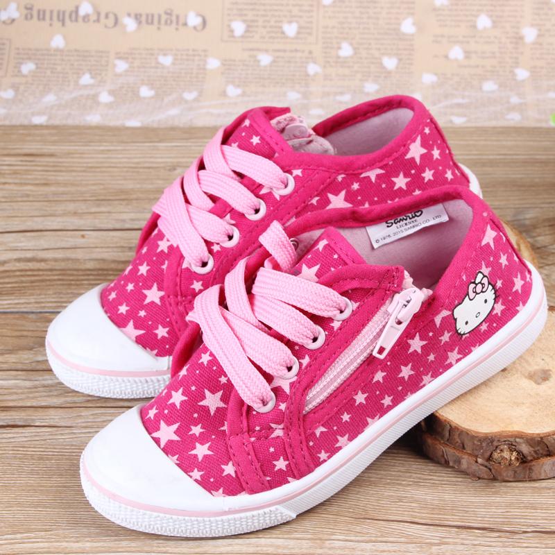 Здравствуйте * Итти холст девочек Детская обувь Обувь для весны и новые оригинальные поощрения внешней торговли