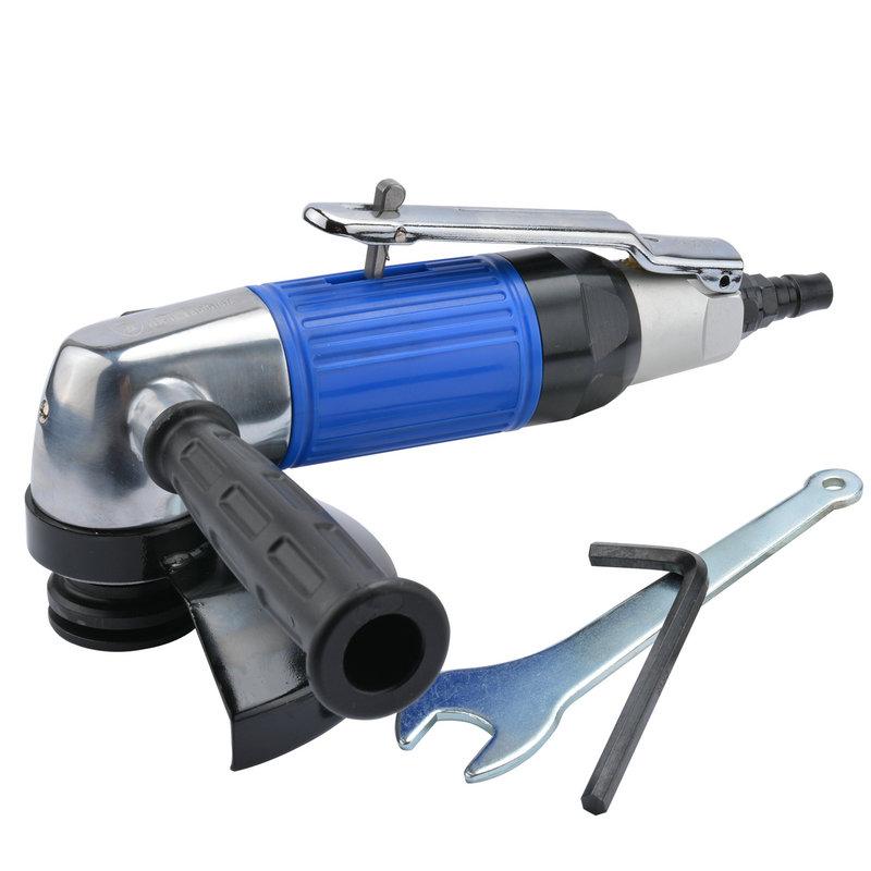 波盾 5吋台湾产气动角磨机 手磨机 125mm风动砂轮机 角向磨光机,可领取10元天猫优惠券