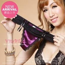 8 fold vitabilla packages mailed it only for happy beautiful satin purple sexy lovely bowknot ladies underwear
