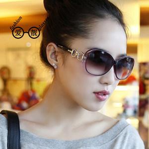 包邮2017新款时尚潮款女士太阳镜防紫外线墨镜街拍达人太阳镜
