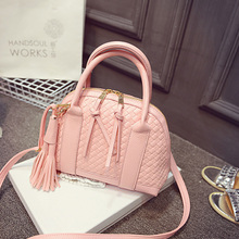 The new spring tides occur 2015 ms bag fashion flow weave shell female bag shoulder aslant bag handbag summer bag