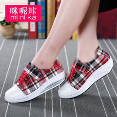 MI Ka 2016 spring summer shoes women shake thick-soled platform shoes Sports leisure shoes wedges shoes women''s tide
