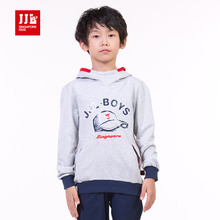 Children's wear boy's spring new hooded fleece Han edition tide season sets JiLe cuhk children's fleece BCY51020