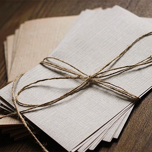 清新浪漫典雅复古木纹理信纸情书表白祝福古风信纸10张入