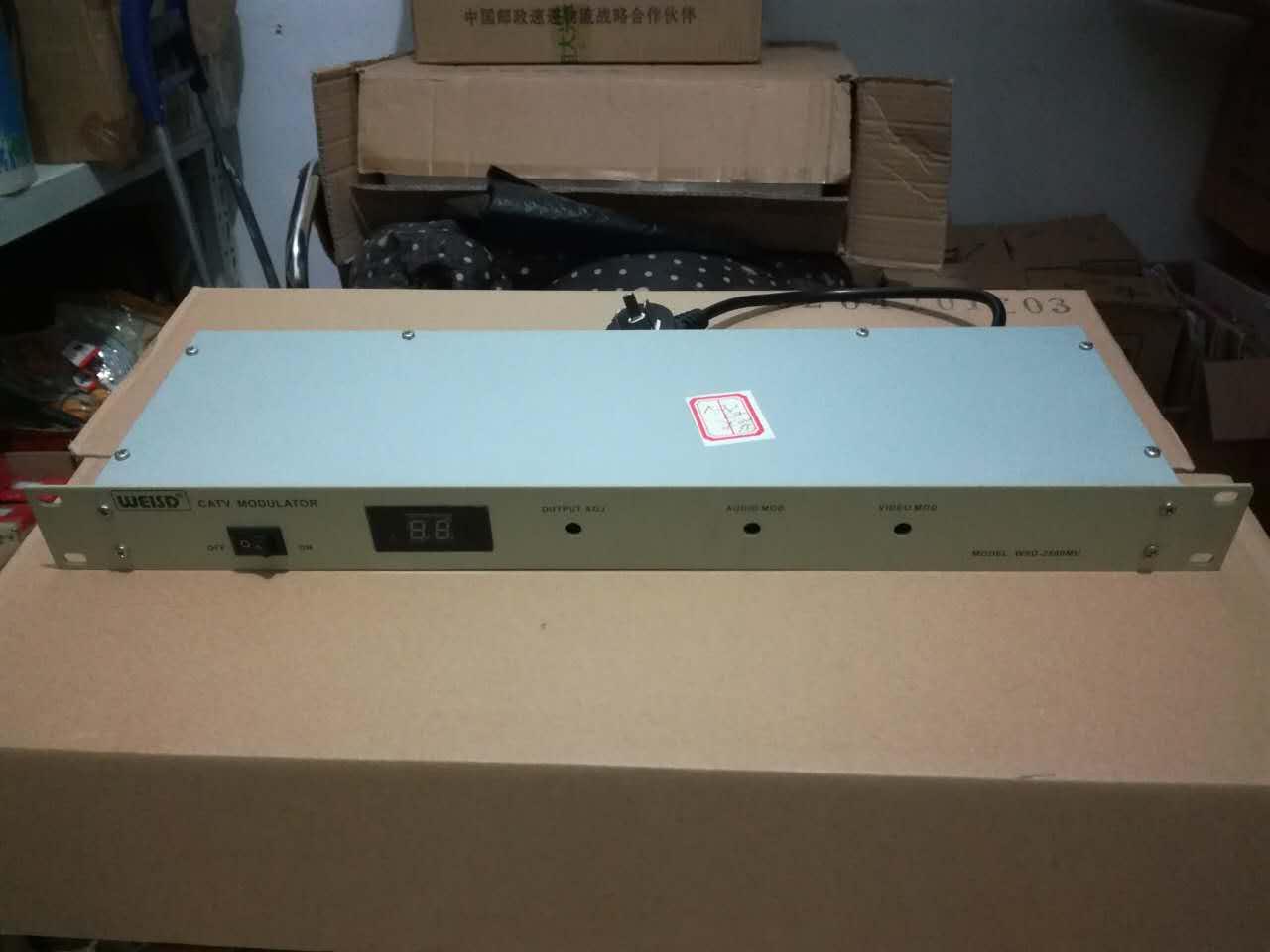 有线电视专业级调制器 伟视达调制器 专业数字电视改造邻频调制器