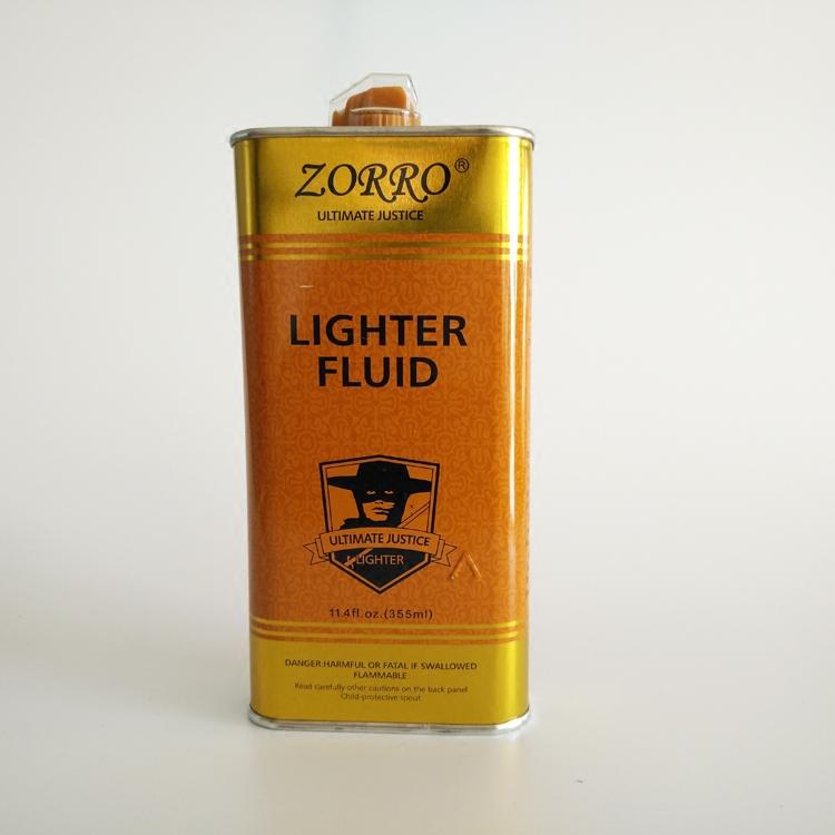 Zorro Zorro Lighter 355ML в твердом переплете керосин импортное золотое масло 133ML Gold Flint хлопок Основные расходные материалы