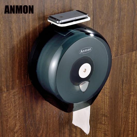 Anmon отели ванная комната пластик большой сверток кассета большой сверток бумага полка туалет бумага полка водонепроницаемый рыночный индекс бумажные полотенца полка
