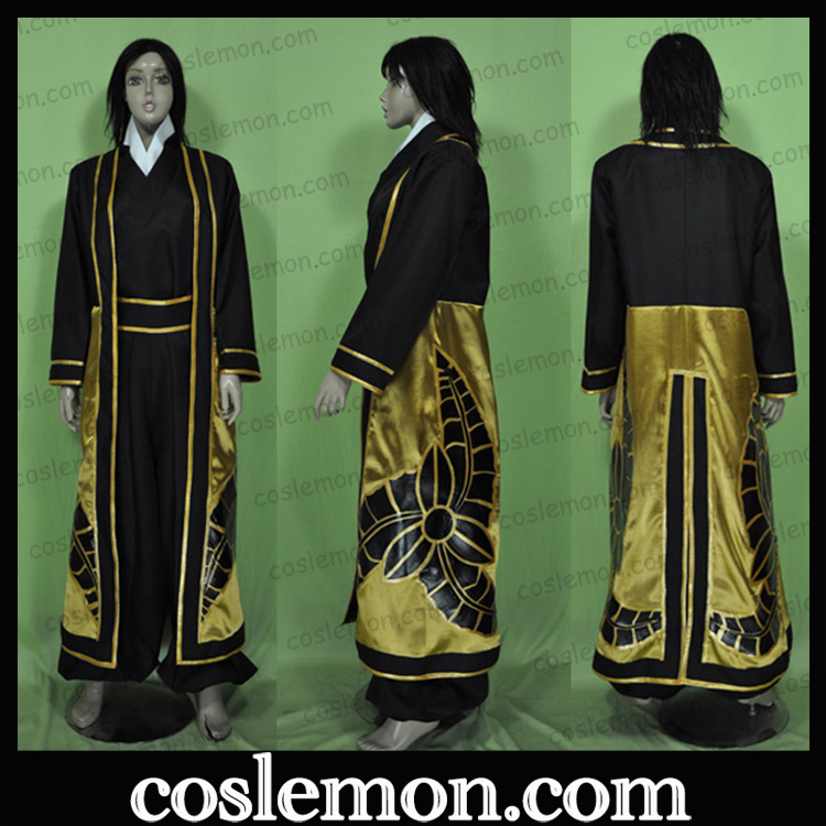 Coslemon the clothing of black field officers and soldiers