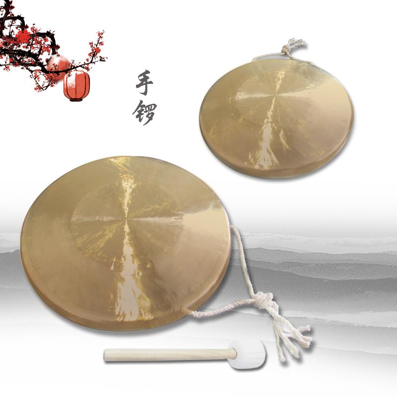 Волны музыкальные инструменты 22cm провинция сучжоу гонг тигр звук гонг бас гонг открыто дорога гонг медь гонг барабан музыкальные инструменты три предложение половина реквизит популярность