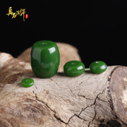 Green Pearl loose beads spacer barrels of resin DIY Xingyue vajra Bodhi Buddhist prayer beads Bracelet Pendant Accessories Accessories