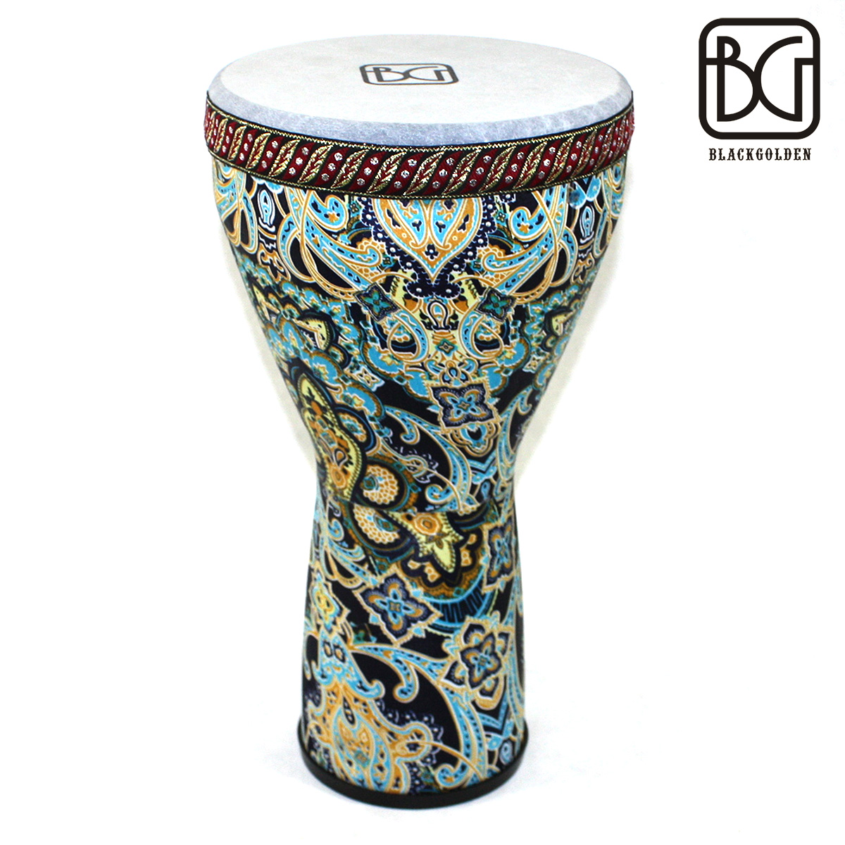 Black golden BG 8-inch African drum hand drum Orff early education package