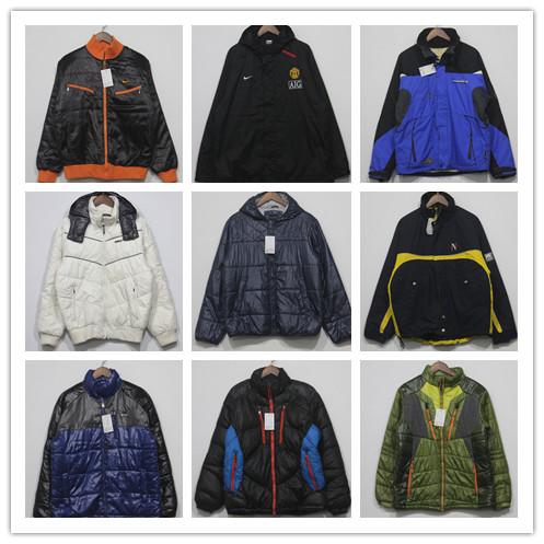 Винтаж Японии оригинальные спорта с капюшоном Ветровки мужские Повседневные куртки проложенные зимние пальто куртки 89