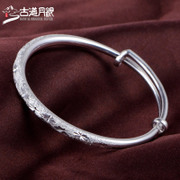 S999 trail month silver sterling silver bracelet women''s push-pull opening silver bracelets silver jewelry the stars sent his girlfriend