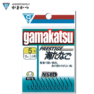 Japan gamakatsu Gamakatsu NSB Black Thunder on sea evening sea ta na barbed hooks