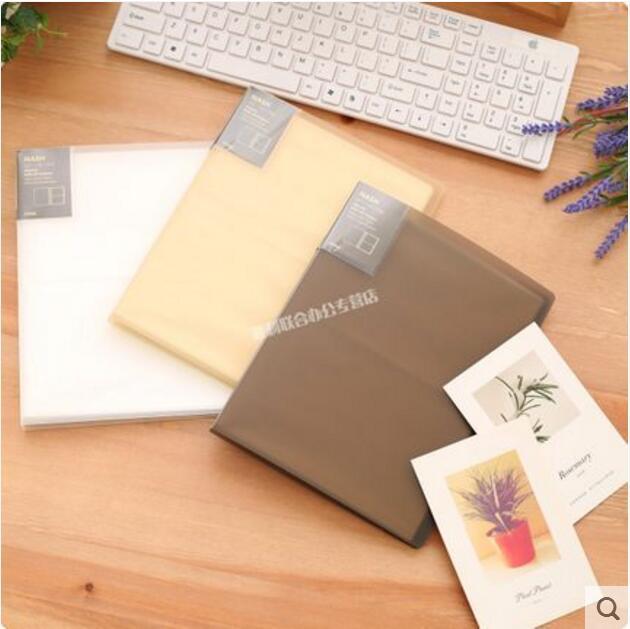 Цвет мечтать ребенок PP пластик около альбомы открытка хранение 6 фаза лист простой годовщина книга