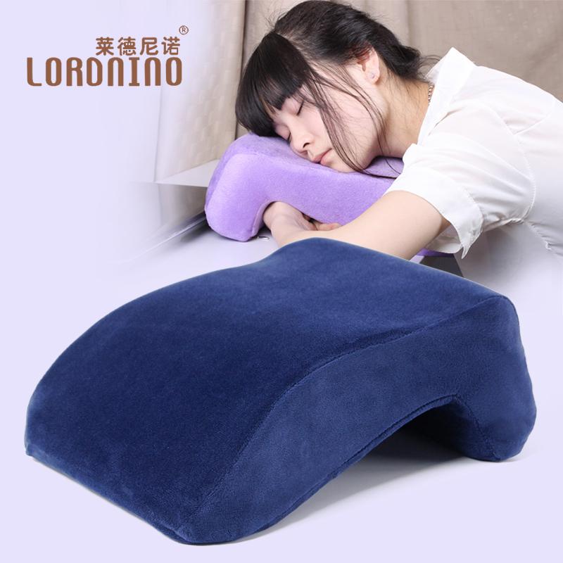 萊德尼諾午睡枕趴睡枕辦公室趴趴枕學生午休枕頭靠墊抱枕睡覺神器