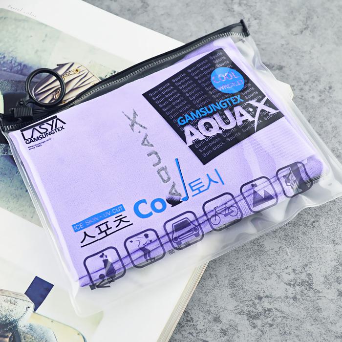 韩国进口正品LASYA公司出品AQUA·X正品冰丝防晒袖套冰袖跑男包邮