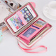 The new large-capacity lunch box ladies wallet 2016 Korean version of the long buckle can be put the phone bag protective cover