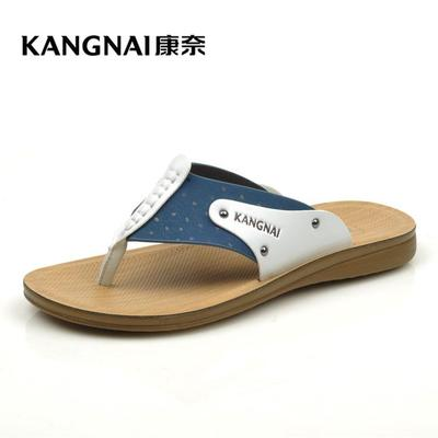 Kangnai men's shoes in the summer of 2015 the new sandals Counters authentic flip-flops leisure slippers, 53005