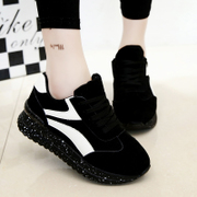 2015 spring women's shoes new style sports shoes the Korean version of breathable shoes and leisure shoes warm Sneakers Shoes wave