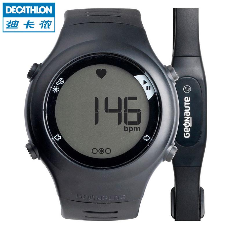 Открытый Decathlon мужчин и женщин работает серии пульса мониторинга грудной ремень Цифровые Часы GEONAUTE 110
