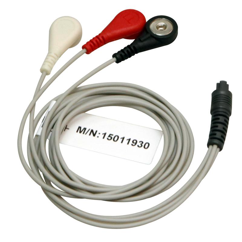 力康心电仪导联线测心电图测心率适用于Prince180B PC-80B PC-80A