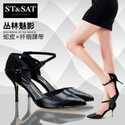 St&Sat/fall 2015 the new header on Saturday with high heels and elegant women's Sandals SS53117664