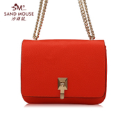 Beach mice new 2016 spring leather ladies fashion trend of women bag handbag shoulder chain small bag