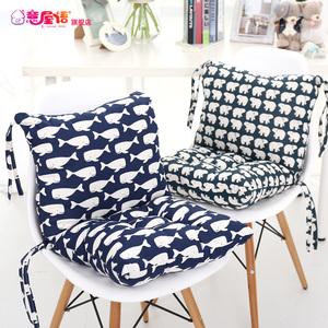 意屋语椅子<span class=H>坐垫</span>办公室靠垫一体最新注册白菜全讯网凳子加厚餐椅垫