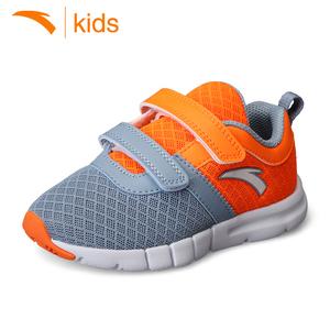 安踏童鞋男小童休闲鞋儿童跑步鞋运动鞋春季新款网面鞋透气