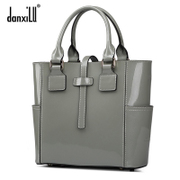 Female bun danxilu/danxilu spring/summer new fashion business leather bag commute bag