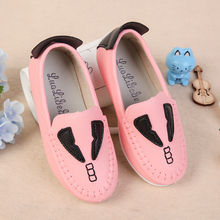 The spring and autumn period and the new single children shoes kids doug boy baby girls shoes little monsters han edition casual shoes