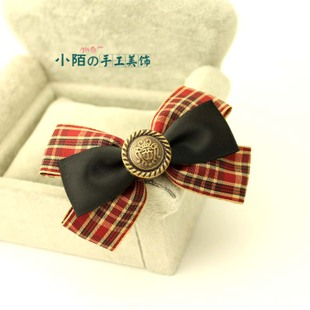 Small street bow card hair jewelry Tousheng Korean jewelry hair barrettes hair ring rope college style child