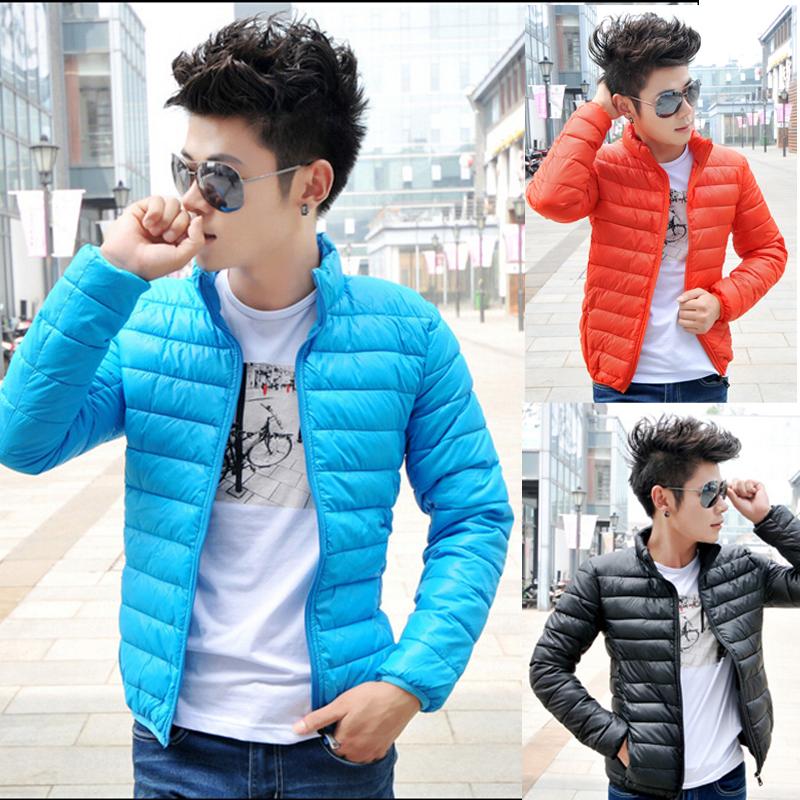 Зимние новые короткие вниз пальто мужчины тонкий Корейский тонкий хлопок мужчины молодые люди положить пальто на осень/зима прилив