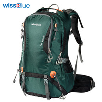 Wissblue Mountaineering bag female 40l50l outdoor shoulder backpack male travel bag travel shoulder bag Outsourcing