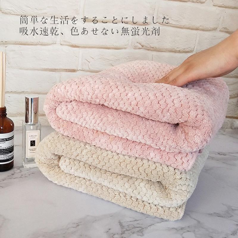 日本yodo xiui菠萝格大浴巾成人婴儿宝宝儿童男女吸水速干不掉毛