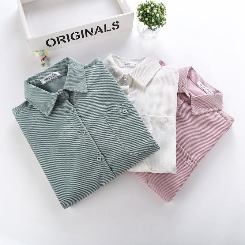 2021春秋韩范复古港味新款长袖衬衫质量如何