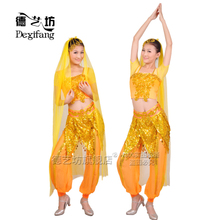 Minority costumes, Indian dance, belly dance, dance costumes, costumes, tiara, women's handbags, headwear, only for rent