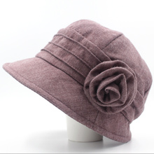 Female elderly ladies fall basin hat fisherman hat mother old hat middle-aged and old female the spring and autumn period and the hat