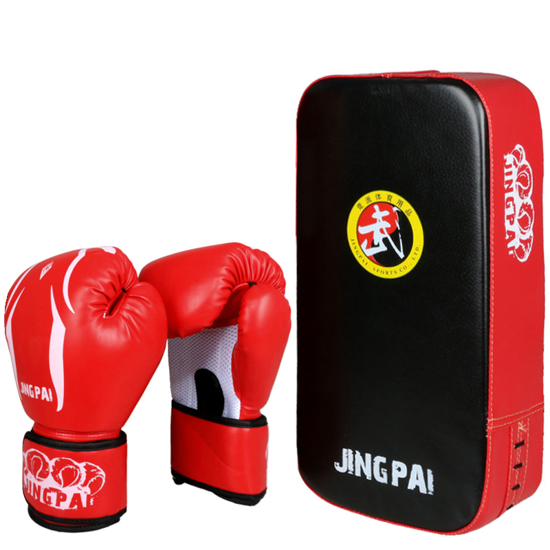 Summer boxing gloves and Sanda foot target combination to thicken Sanda Training Boxing sets