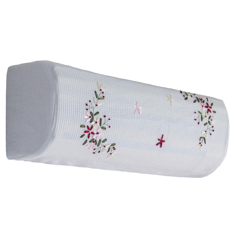 簡約繡花全包布藝掛機空調罩掛式空調罩空調套空條罩掛機罩 清新