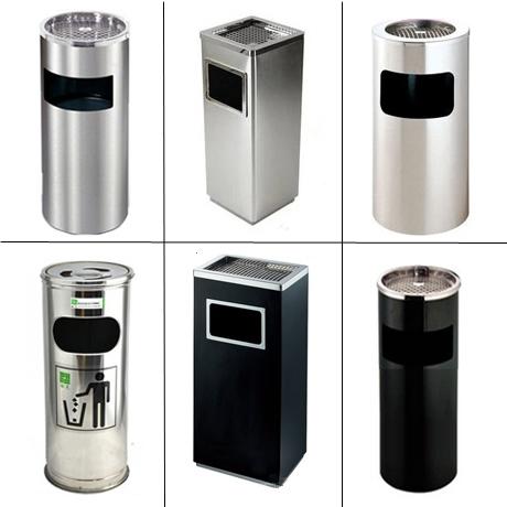 不鏽鋼垃圾桶包郵酒店立式煙灰缸衛生桶大堂大廳賓館酒店果皮桶