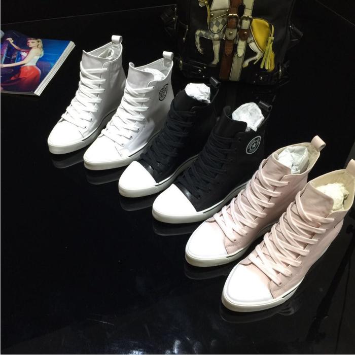 Европа 2015 Весна дизайн обувь с высота увеличения обувь ремень платформы спортивная женская обувь